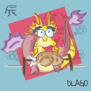 drago - spiedini di pollo e porro alle ostriche