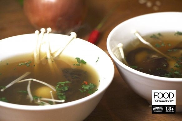 zuppa di shitake